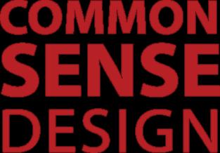 Common Sense Design